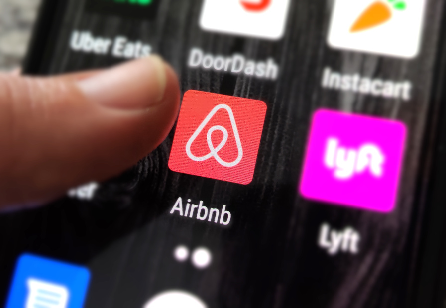 Airbnb Phone App - Photo Credit: Mark Dickson